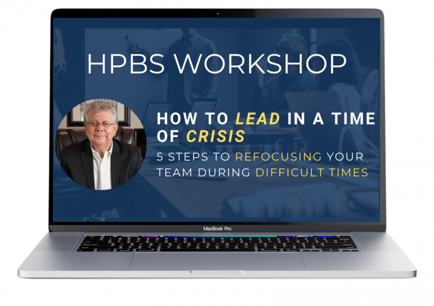 how to lead in a time of crisis